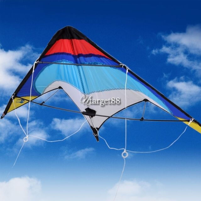 Dual Line Control Outdoor Activiy Sport Stunt kite Fun to Fly Wing span UTAR