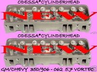 2 Fits Gm Gmc Chevy Escalade Suburban Vortec 5.7 350 906 062 Cylinder Heads