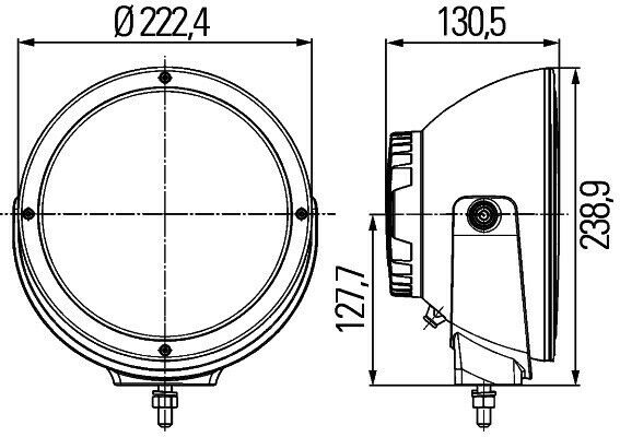 HELLA Luminator LED Sæt med 2 stk