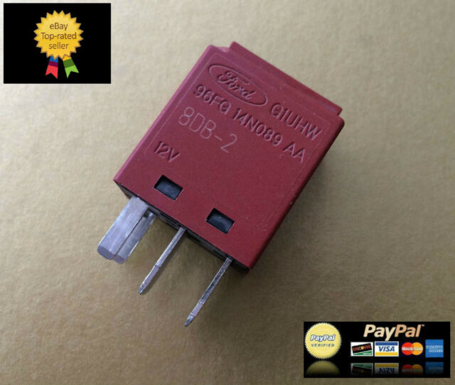 GENUINE FORD PUMA 4-PIN ELECTRIC / LIGHTING FLASHER UNIT RELAY BROWN 1.4 1.6 1.7