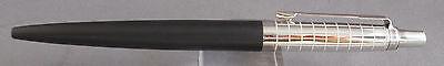 Parker Jotter Premium Ball Pen-matte black with chiselled cap-NEW