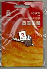 Baseball Olympic Pin Badge ~ 2008 ~ Beijing ~ Games Mark ~ Equipment Series