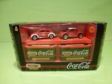 MATCHBOX 38104 VW VOLKSWAGEN BEETLE - SPLIT WINDOW 1:60? -  EXCELLENT IN BOX