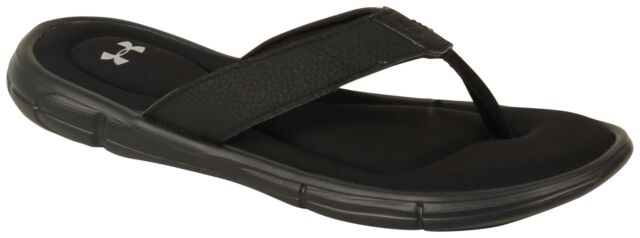 7a1a2325134f Under Armour Men s Ignite II Thong Flip Flops Sandals Black 12 for ...