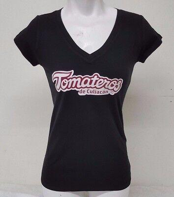 Sports Mem, Cards & Fan Shop Aggressive Tomateros De Culiacan Classic Logo Women's V-neck T-shirt 100% Cotton