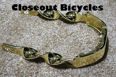 Twisted Extended Crown Chrome lowrider beach cruiser bicycle crown 155606