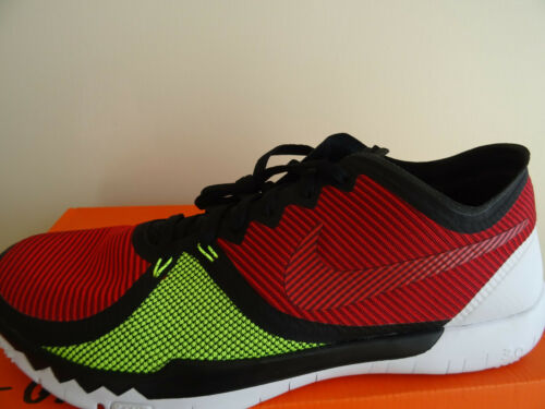 Nike Free Trainer 3.0 V4 Entrainement Baskets 749361 066 UK 10 EU 45 US 11 Neuf   Boîte