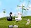 thumbnail 4 - Mini Swan Figurine Fairy Garden Ornaments Crafts Goose Model Miniature Animal