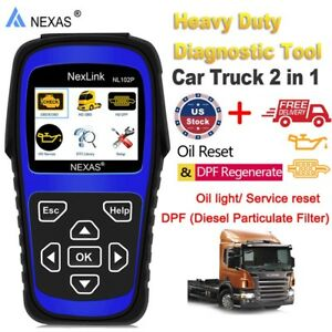 NEXAS-NL102P-Car-Truck-HD-OBD2-Code-Reader-Diesel-DPF-Oil-Reset-Diagnostic-Tool