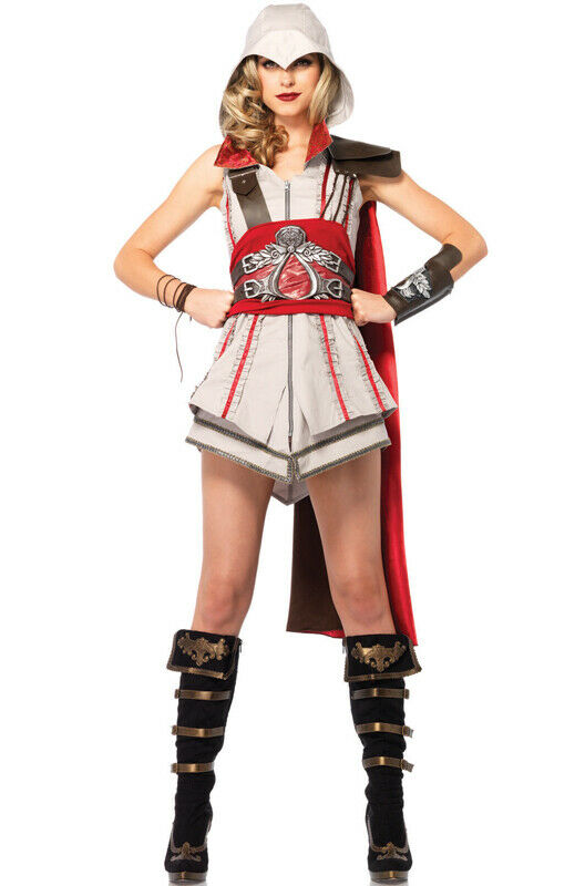 Brand New Assassin Creed Ezio Girl Women Cosplay Outfit Adult Costume For Sale Online