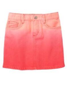 NWT Gymboree Desert Dreams 6 Ombre Rose Pink Denim Mini Skirt | eBay