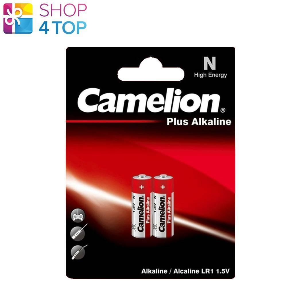 2 camelion lr1 n plus alkaline batteries mn9100 e90 1.5 945mah Exp 2026 2bl new