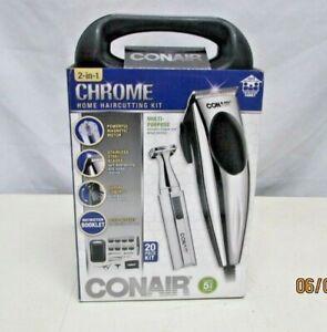 Conair Chrome HCT202 Home Haircut Kit - 20 Piece NEW IN BOX