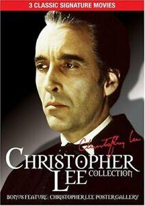 3movie DVD Christopher Lee SATANIC RITES DRACULA,SHERLO