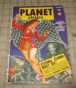PLANET-STORIES-Vol-IV-2-Spring-1949-Pulp-Sci-Fi-MAGAZINE