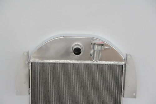 3 Rows Aluminum Radiator Fit 1935 1936 Chevy Standard Truck 3.4L Chevy V8 Engine