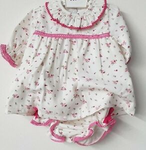 Spanish-Style-Baby-Girl-Floral-Dress-and-Pants-Set-Outfit