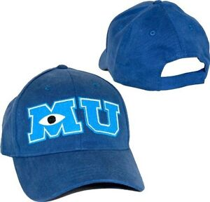 Child Youth Adjustable Movie Disney Pixar Monsters University Mu Costume Cap Hat Ebay