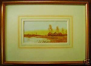 M-K-Stark-Fenland-Norwich-School-Watercolour-C1880
