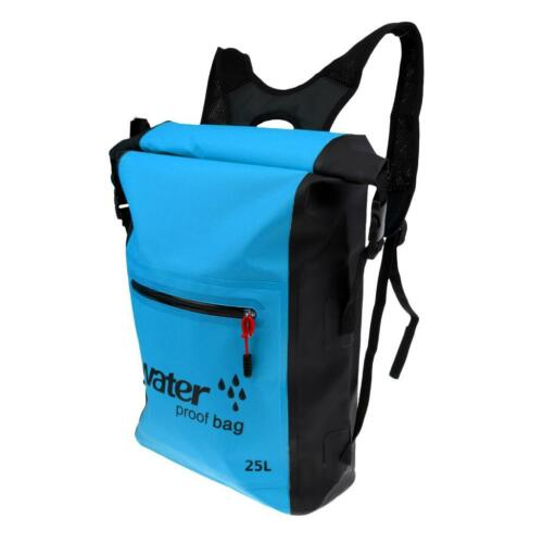 25L Waterproof Hiking Kayak Boat Surfing Floating Backpack Dry Bag Rucksack