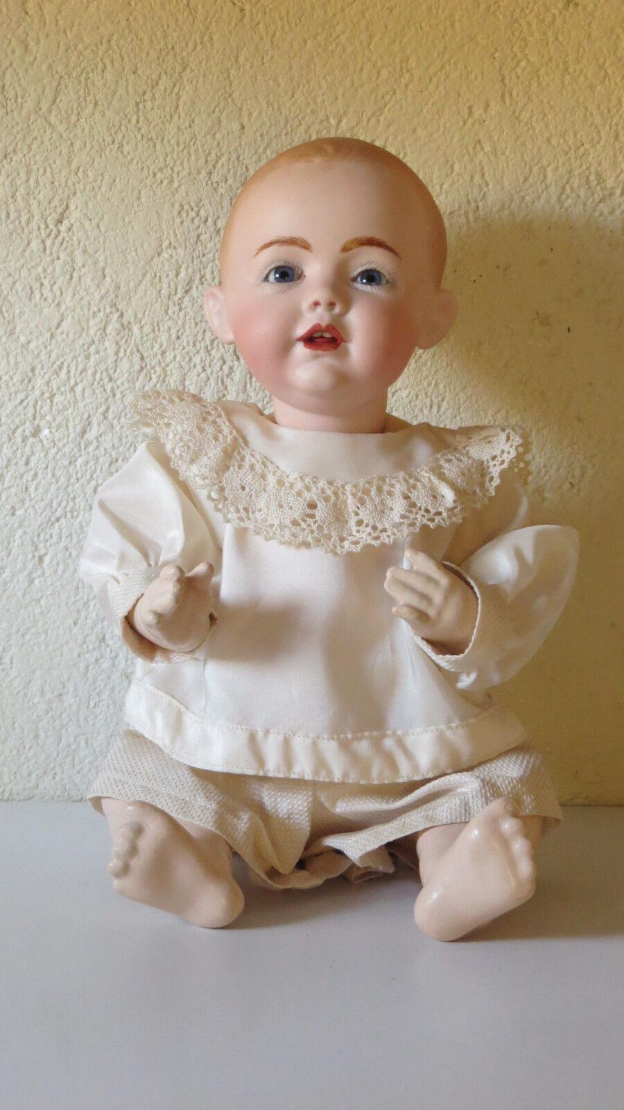 KESTNER 38 CM 15,2 Pollici Bambola Vintage Riproduzione Antique Doll