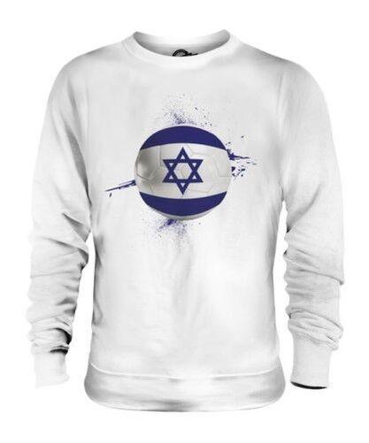 Israel Fútbol Unisex Suéter Regalo Top Copa Del Mundo Deporte
