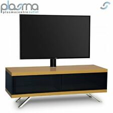 mda designs tucana hybrid cantilever tv stand for upto 60 tvs oak