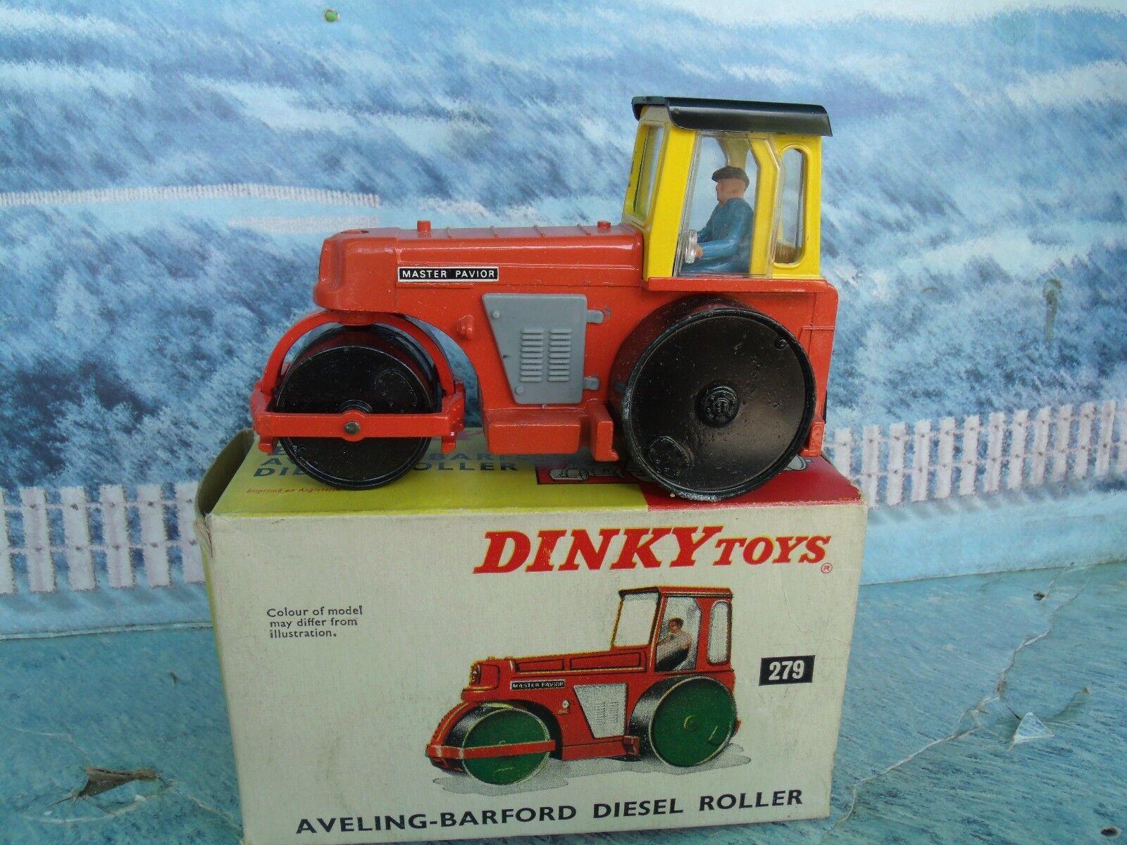 1 43 Dinky No.279 Aveling Barford Diesel