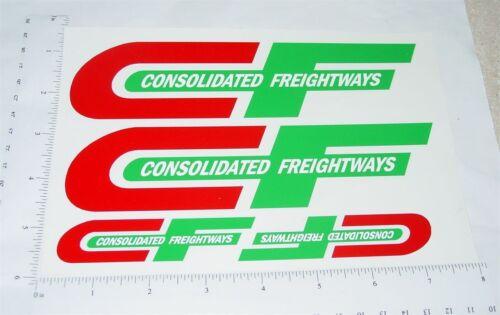 Custom Consolidated Freight Semi Truck Stickers            CU-035