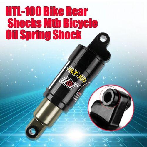 HLT-100 Bike Rear Shocks Bicycle Aluminum Alloy Spring Shock Absorber 125-185mm
