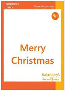 Sainsburys Merry Christmas Card From 1 49 Each Funny Joke Friend Xmas Ebay