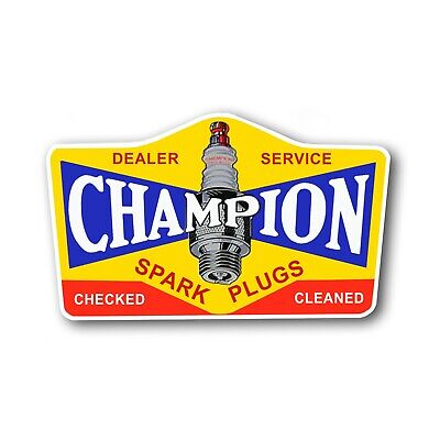Champion Spark Plug Service Reproducation Metal Sign 8 x 12 made in the USA