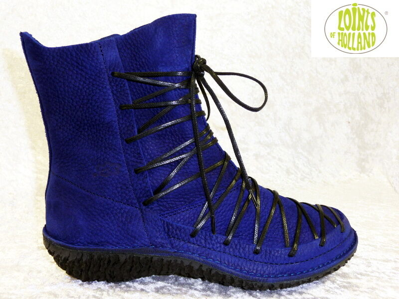 Loints Fusion, of Holland, Winterschuh, Modell 37138 Fusion, Loints Größe 36, Blau, Lagenlook ddae8f