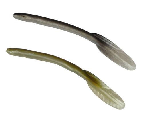Aal Shad ab 1,17€//St Set 16cm Sandaal Gummi Fisch Twister Dorsch Hecht Köder Jig