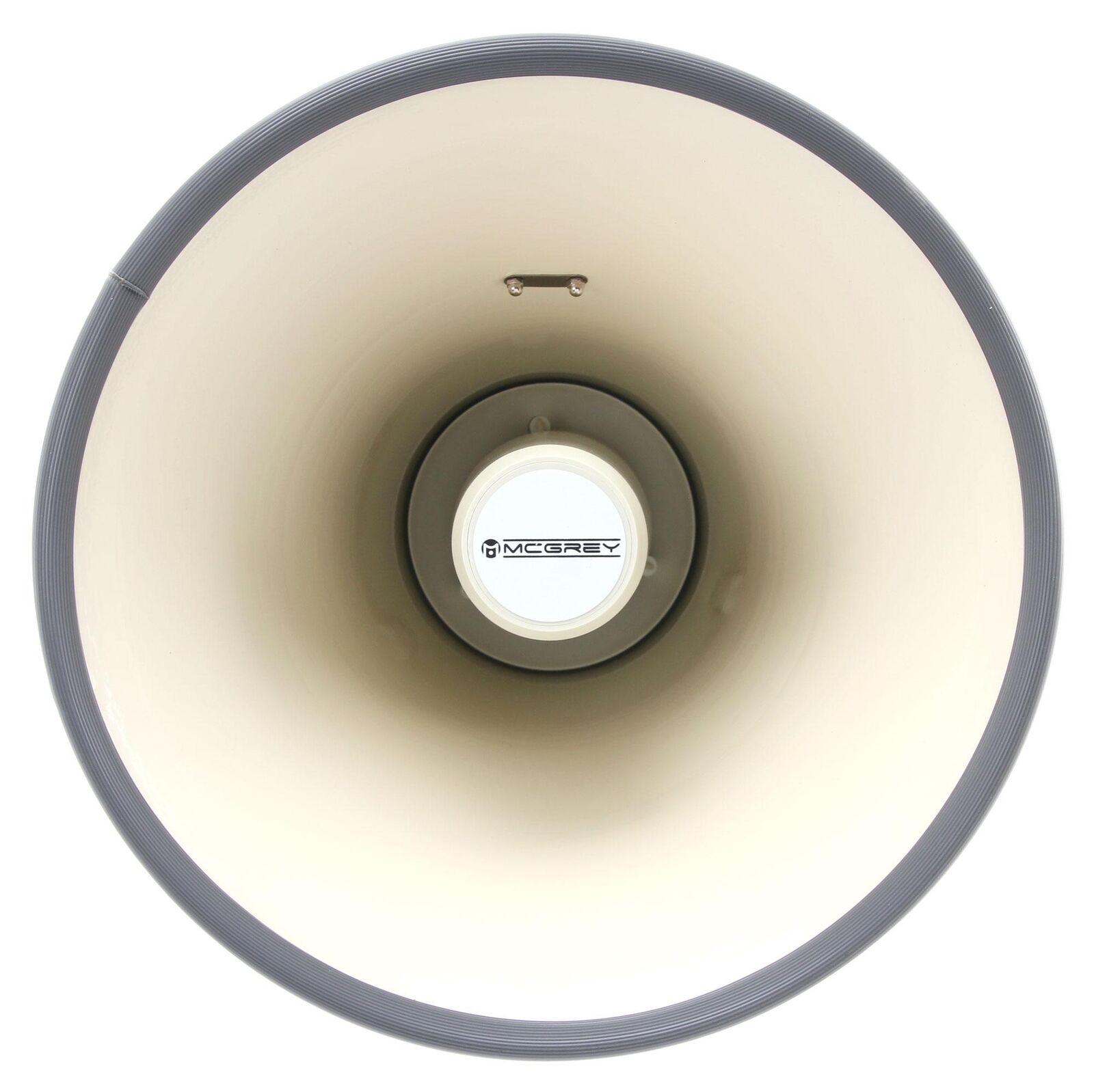 Profi Megaphon Tröte Megafon 2400m Sprachrohr Lautsprecher Sirene Recording 100W 2400m Megafon 7c1de0