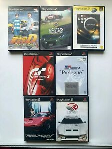 Lot-7-PlayStasion2-Car-racing-set-from-JAPAN-USED-GAME-PS2-NTSC-J-Japan