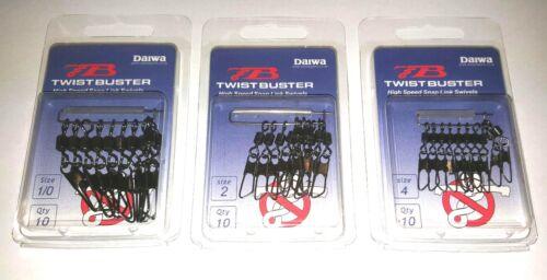 All Sizes Snap Link Swivels High Speed Daiwa Twistbuster