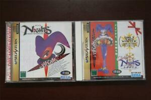 Christmas NiGHTS into Dreams Custom Reproduction for Sega Saturn Case Disc Cover --