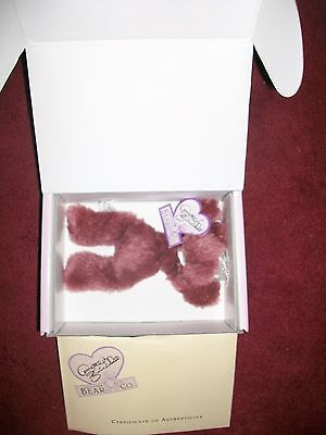 Dolls & Bears Nice Annette Funicello Razzbeary Blizzard Mohair Bear Bean Bag Collection