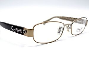 NEW-COACH-5006-SUMMER-9038-TAUPE-AUTHENTIC-EYEGLASSES-FRAME-RX-49-18-130-19