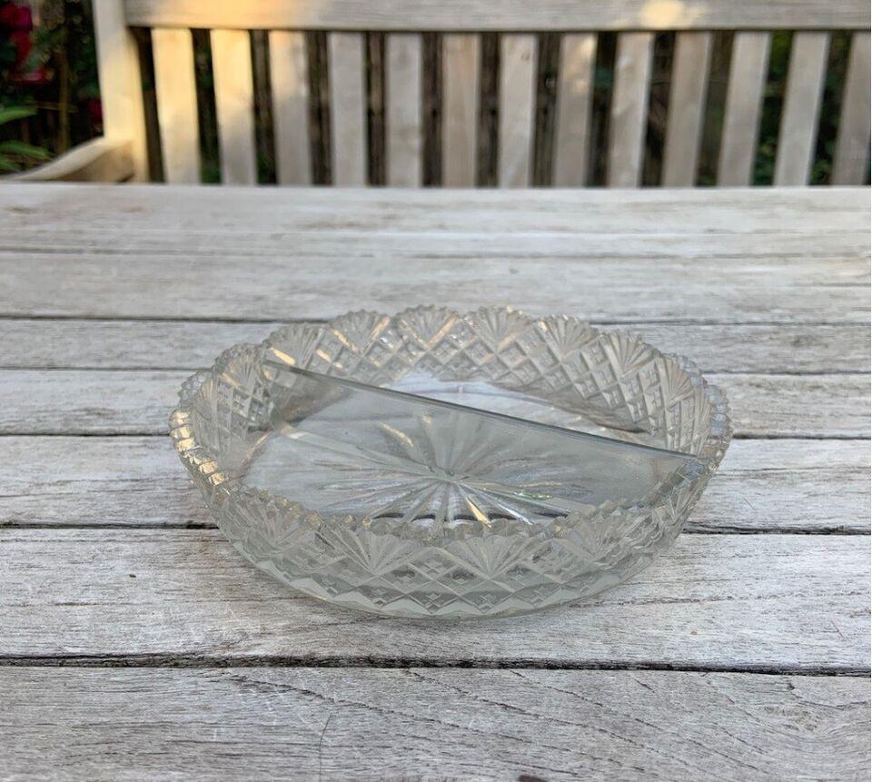 Glas, Opdelt skål