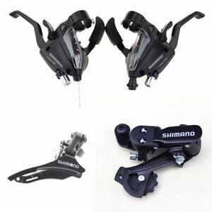 1 Pair Shimano ST-EF500 3x7 Speed MTB Bike Brake Levers Set Shifter Shift New