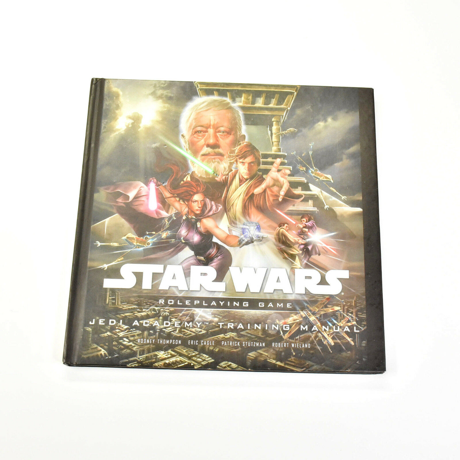STAR WARS RPG Roleplaying game Jedi academy training manual manual manual guide Book Saga d5f3f9