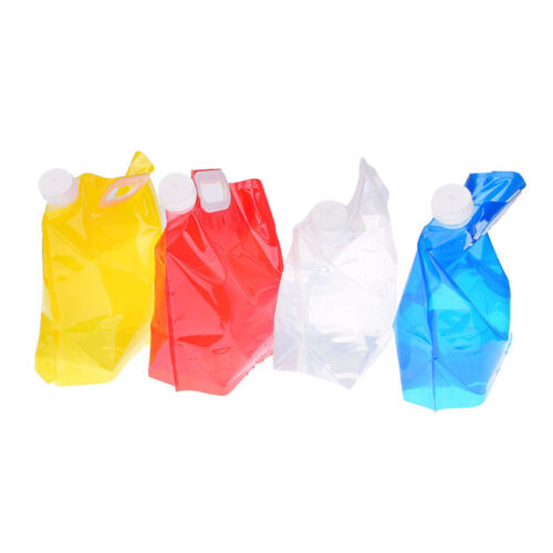 1pc 5l foldable collapsible drinking water bag car water carrier container YJ