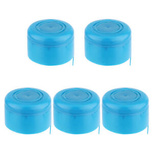 5Pcs-Reusable-Water-Bottle-Barrell-Cap-Replacement-55mm-3-5-Gallon-Water-Jug-Lid