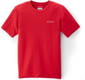 c938597d Columbia mens Diamond Peak Short Sleeve Color Red Size M NWT Retail ...