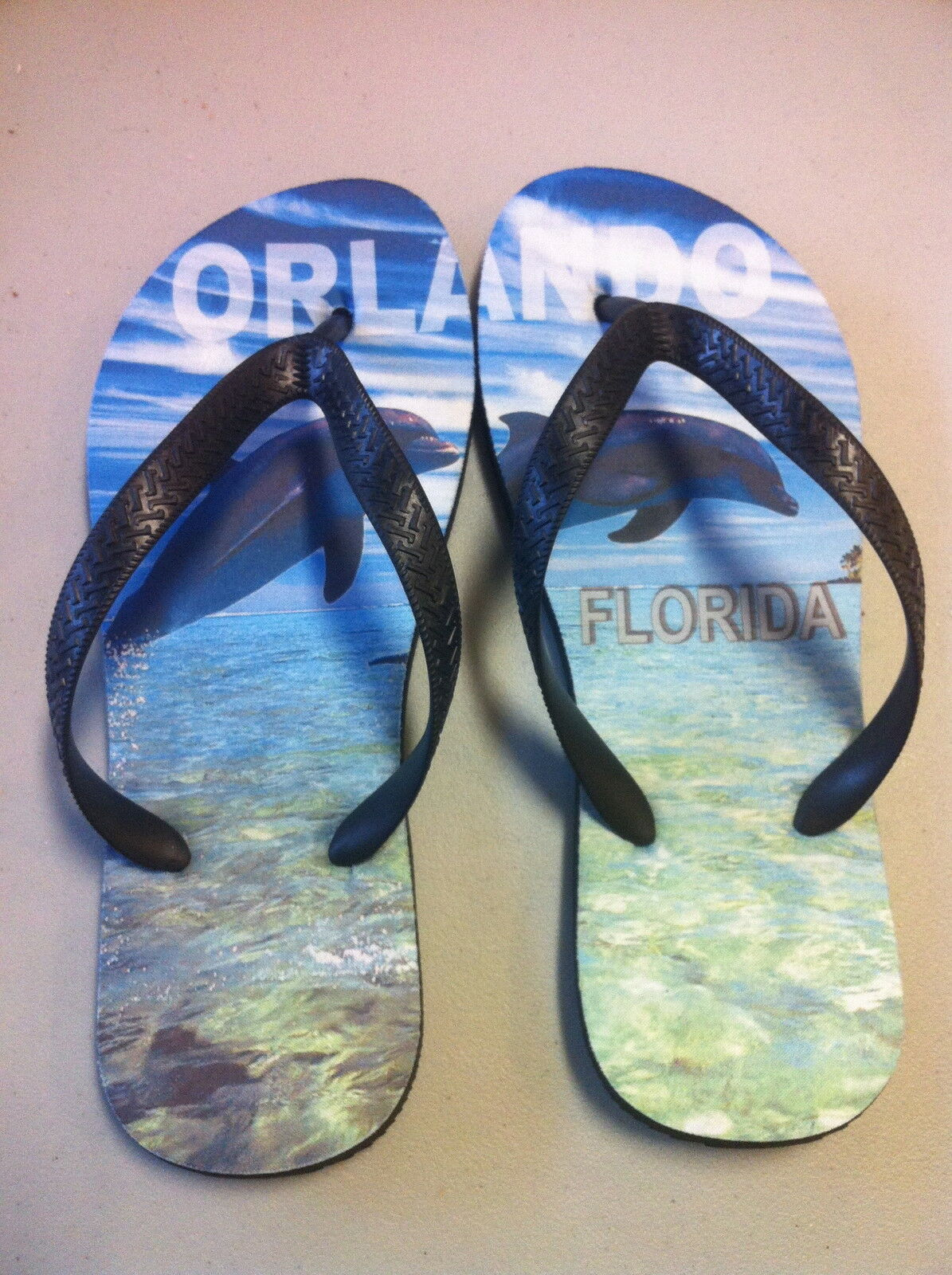 Personalized Flip Flops with Text, your Custom Design, Logo, Text, with or Graphics 3d985b
