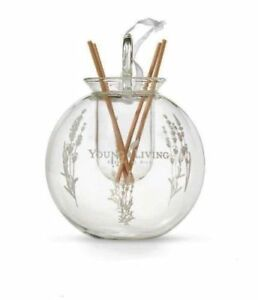 Young Living 2018 Glass Christmas Ornament Reed Diffuser Clear NEW   eBay