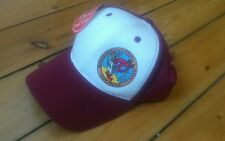 1990s HOT TUNA surfer BASEBALL CAP retro vtg surf longboard trucker skate New