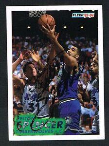 Felton-Spencer-126-signed-autograph-auto-1993-94-Fleer-Basketball-Trading-Card
